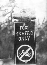 Foot traffic Only